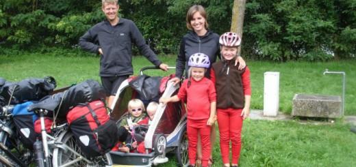 Familien Møller - Cykeltur i 2009 - Alle Ud