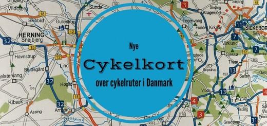 Nye cykelkort over cykelruter i Danmark