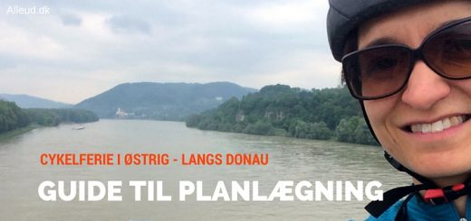 Cykelferie i Østrig - Passau Wien - komplet planlægningsguide