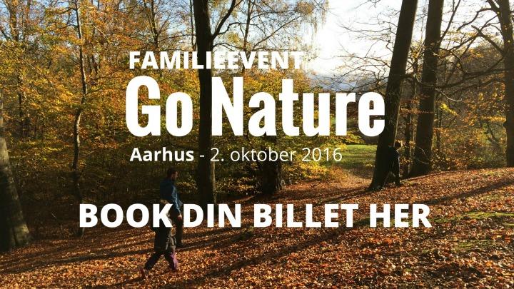 Book billet til GO Nature Aarhus