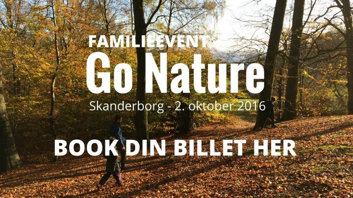 Book billet til GO Nature Skanderborg
