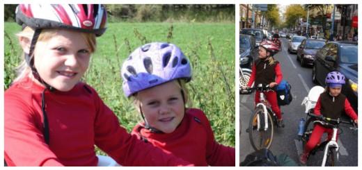 Agnes og Alma - cykler 2000 km - børnenes fortælling - Alle Ud