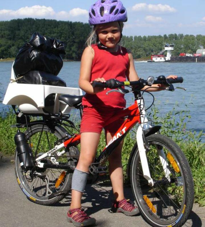 Cykeltur Donau Rhinen børn cykel udstyr Alle Ud