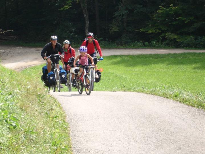 Cykeltur Donau Børn Alle Ud