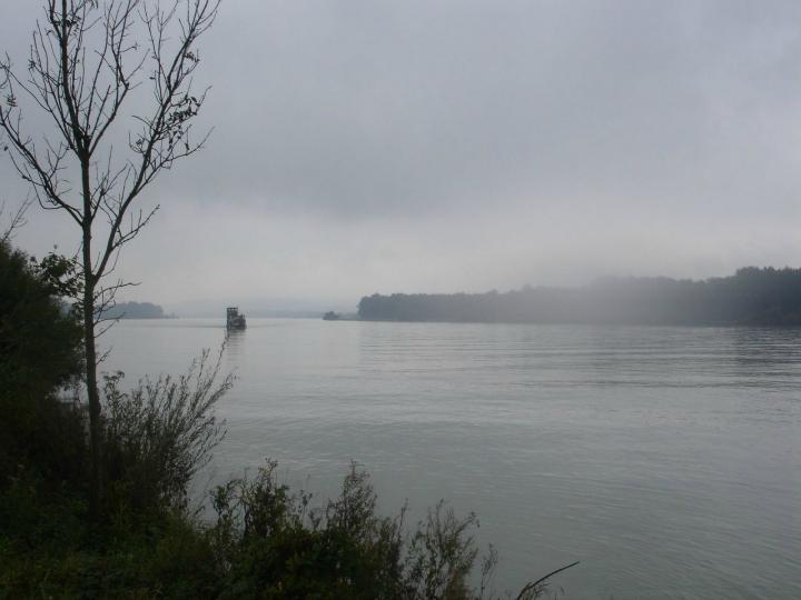 Cykeltur langs Donau. Alle Ud