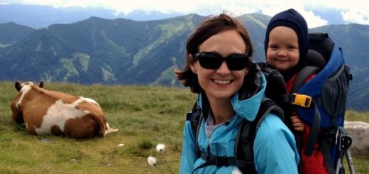 Vandring i Østrig Saalbach med små børn - nemt - Alle Ud