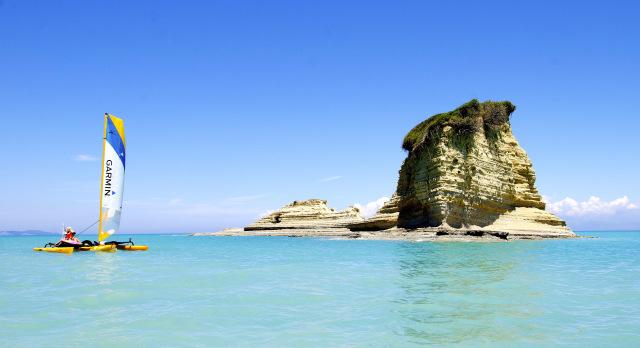 Ved Corfu, Grækenland