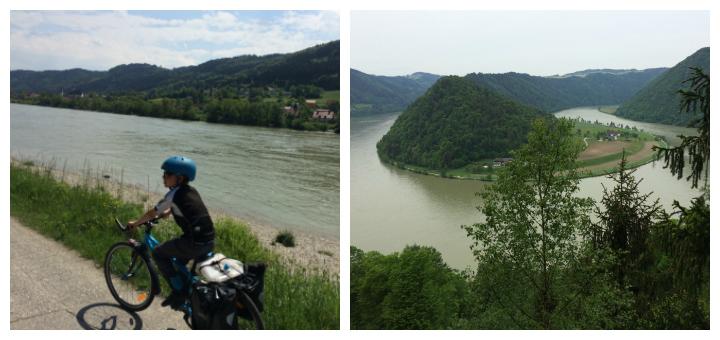 Cykeltur langs Donau Fra Passau til Wien Donauradweg