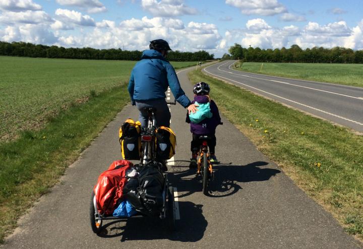 Cyklist 4 uden bagage
