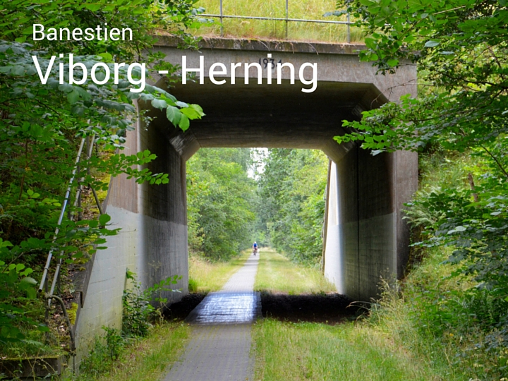 Banesti Viborg Herning Alhedestien