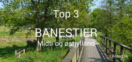 Banestier Midtjylland og Østjytlland - top 3