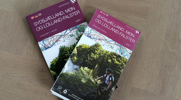 Cykelkort Danmark fra Cyklistforbundet Legin og Dansk Cykelturisme
