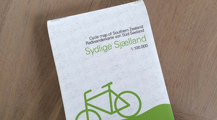 Cykelkort danmark 2016 fra Nordisk Korthandel og Scanmaps