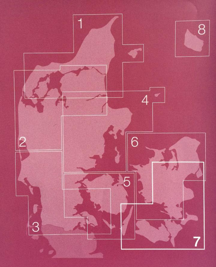 Cykelkort Danmark - de 8 cykelkort fra Cyklistforbundet
