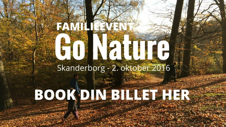 Book billet til GO Nature Skanderborg
