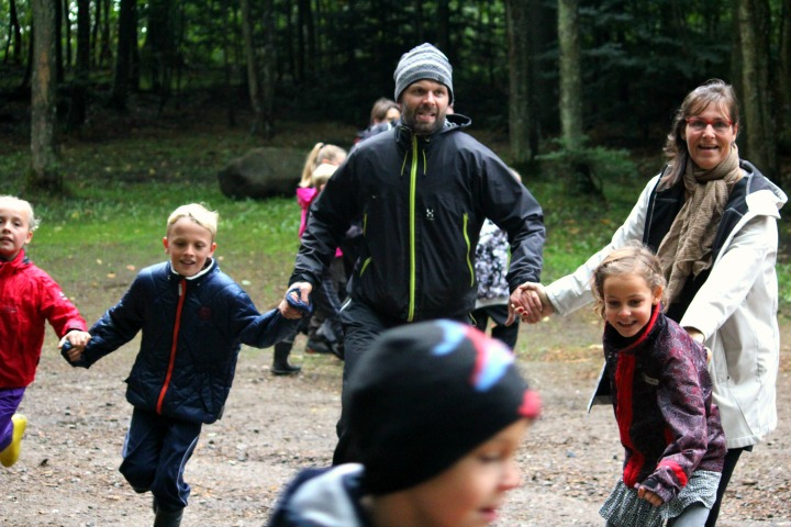 Go Nature Familieevent med Alle Ud Opvarmning