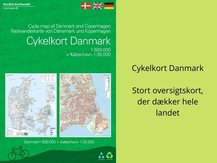 Cykelkort Danmark oversigt cykelruter cykelsti