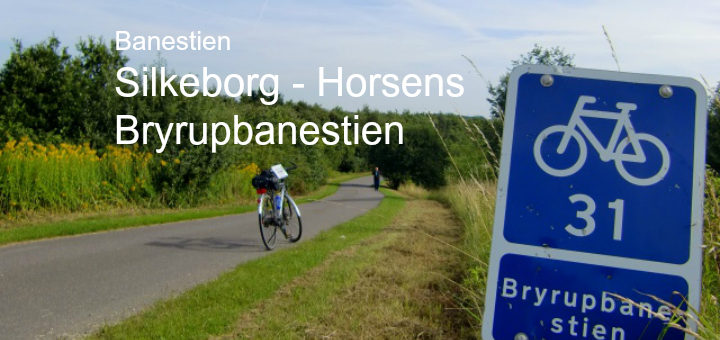 Bryrupbanesti Silkeborg Horsens banesti Danmarks smukkeste jernbane cykeltur