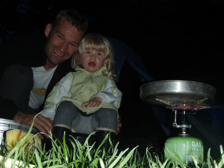 Kano Kanotur med børn barn Sverige
