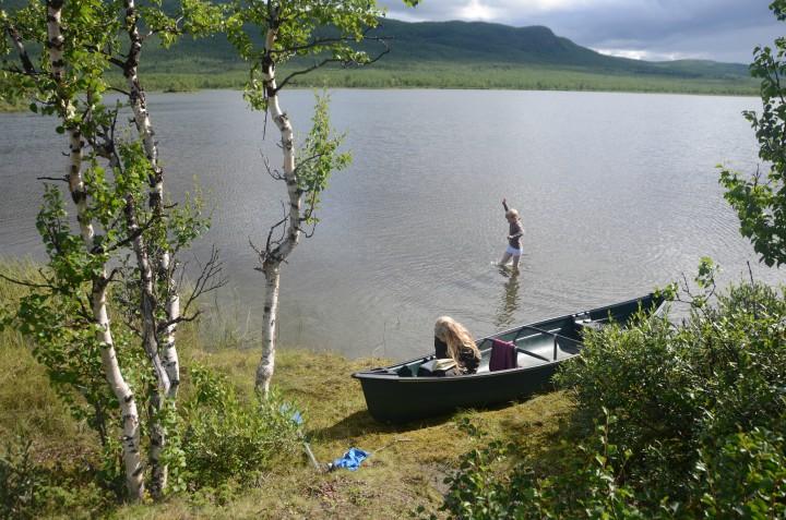 Kano Kanotur Sverige familie børn