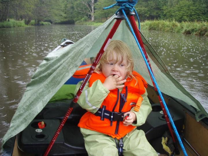 Kano familietur kanotur børn