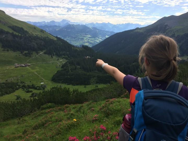 Vandring Østrig børn