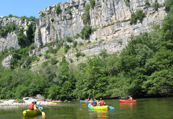 Chassezac kano kanotur