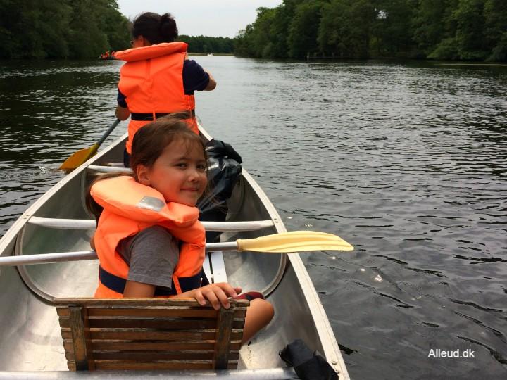 Gudenåen kano Kanotur Silkeborg Dagstur familie børnefamilie