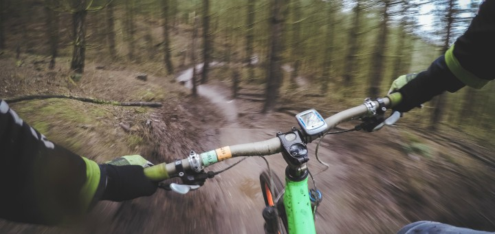 Mountainbike bornholm Trailcenter Almindingen MTB