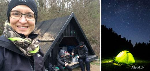 Overnatning naturen i det fri teltning shelter primitiv teltplads guide