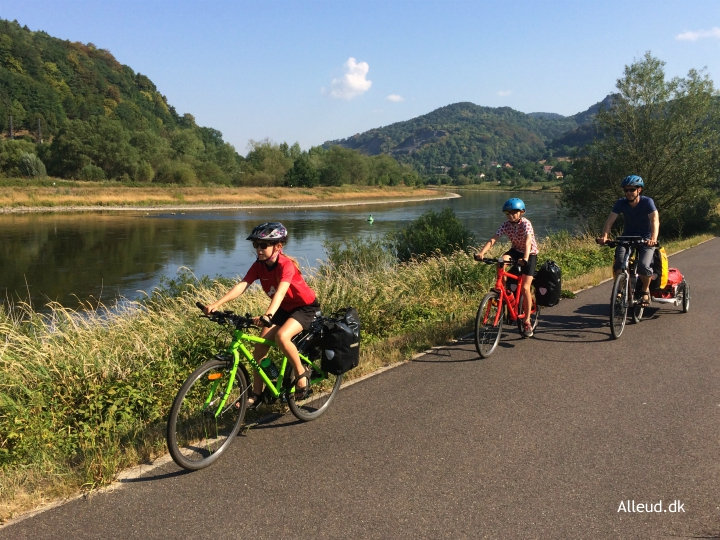 Cykeltur Elben Radweg