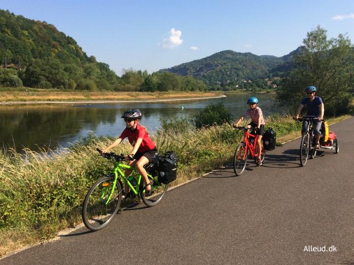 Cykelferie Elben Cykeltur Børn Familie Familievenlig cykelrute Elbe Radweg