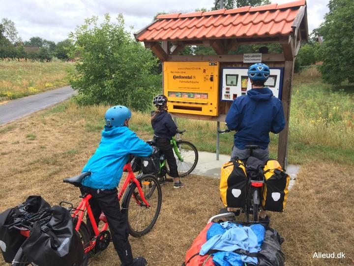 Cykelslangeautomat cyklister turcyklisme kvalitet Tyskland