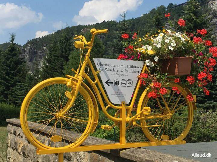 Radlerrast Tyskland Elben Cykelturisme