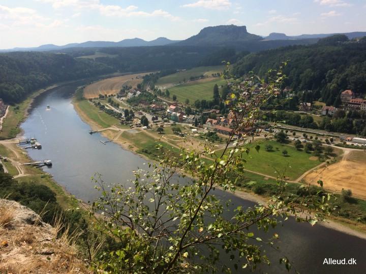 Saksiske Schweiz Elben
