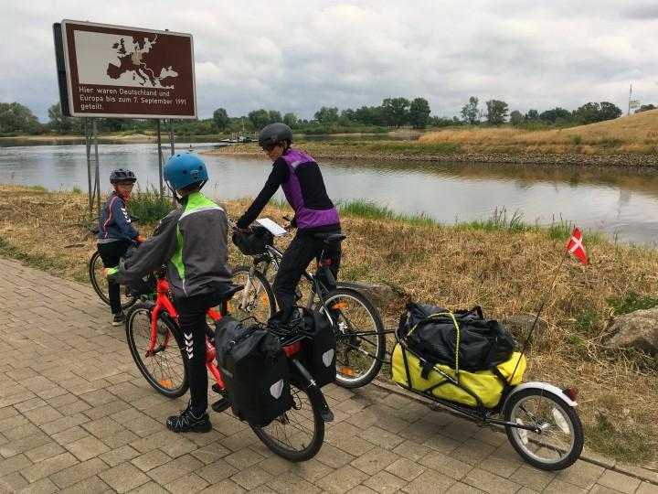 Tyskland genforenet Elben Cykelferie cykeltur familie