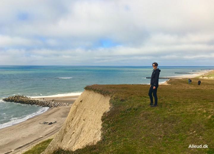 Bovbjerg Vesterhavet Klinter