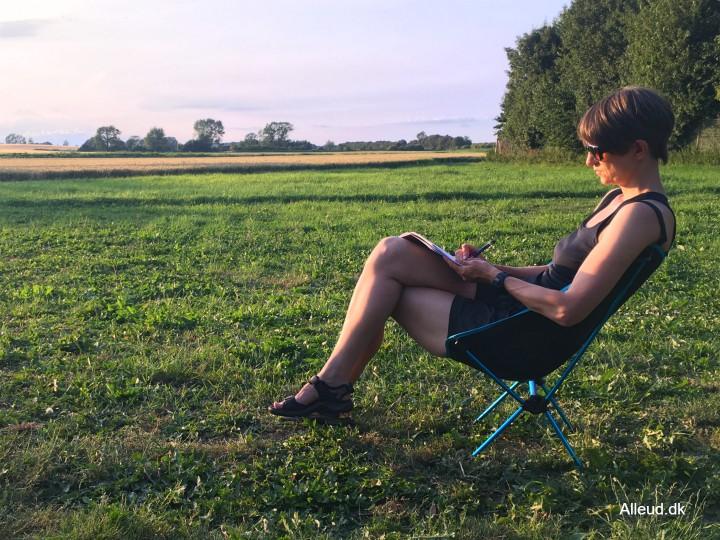Letvægtsstol foldestol campingstol