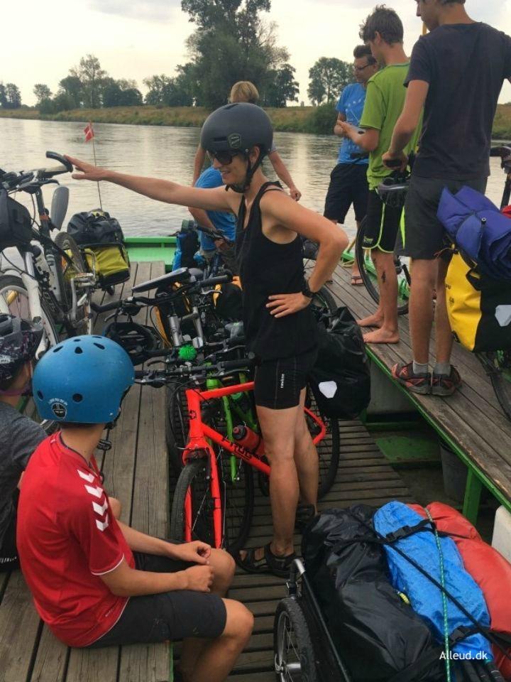 Tyskland Elben Elbe radweg cykelferie cykeltur
