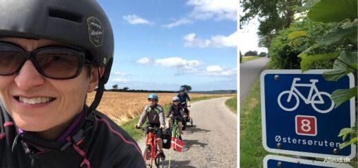 Østersøruten Nationalrute 8 Cykeltur Danmark cykelferie børn familie