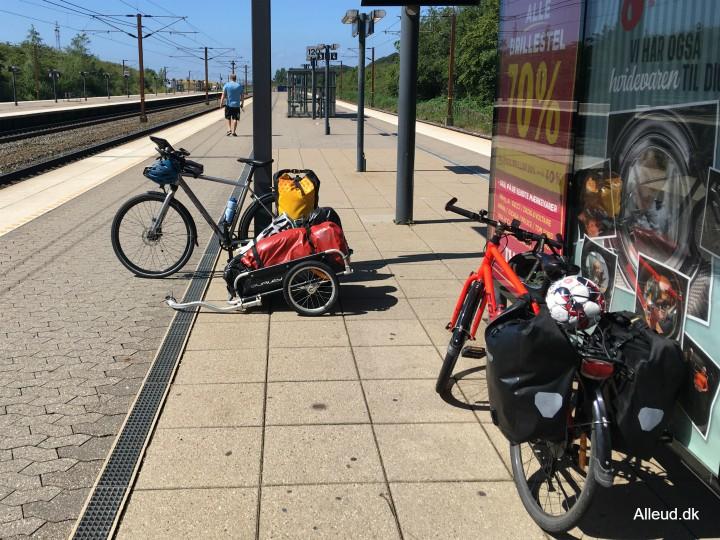 Korsør Nyborg Storebælt Østersøruten Nationalrute 8 tog cykler