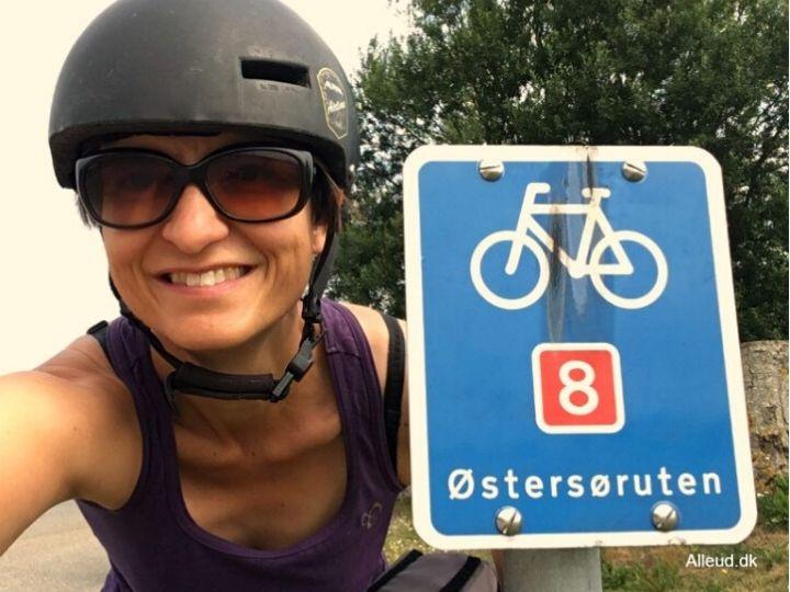 Østersøruten Cykeltur Cykelferie skiltning skilt familie