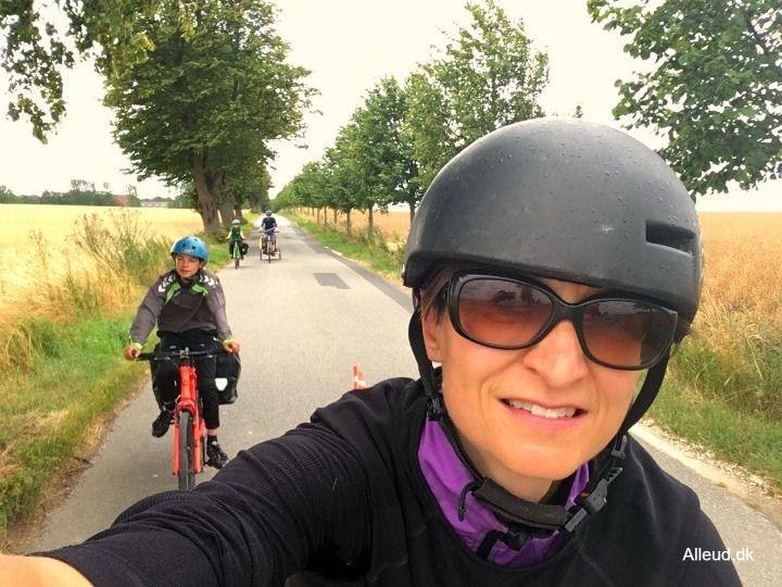 Nationalrute 8 cykelrute danmark Østersøruten Oestersoerute underlag asfalt familievenlig