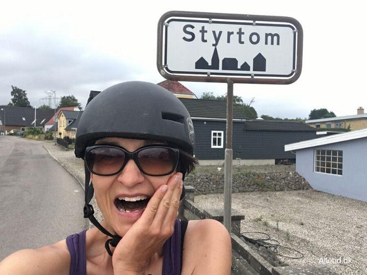 Sønderjylland Østersøruten bakker kuperet rute østersøruten