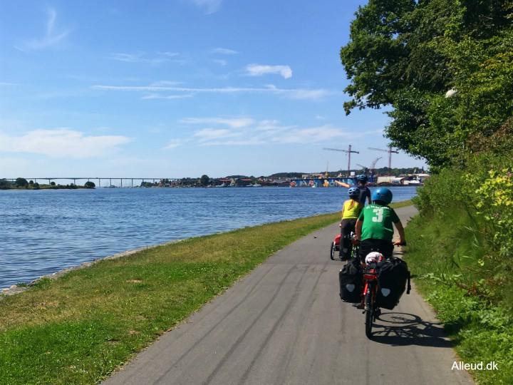 Svendborg Svendborgsund Østersøruten familievenlig børn familie cykelsti