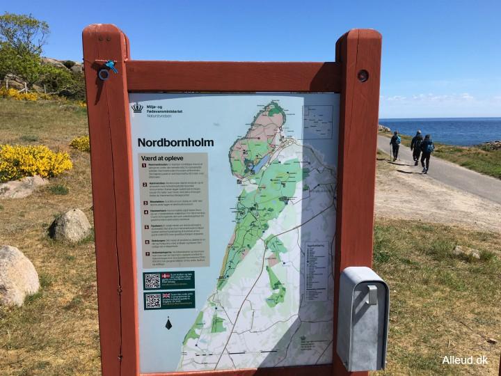 Hammerknuden Nordbornholm hammeren kyststien vandring