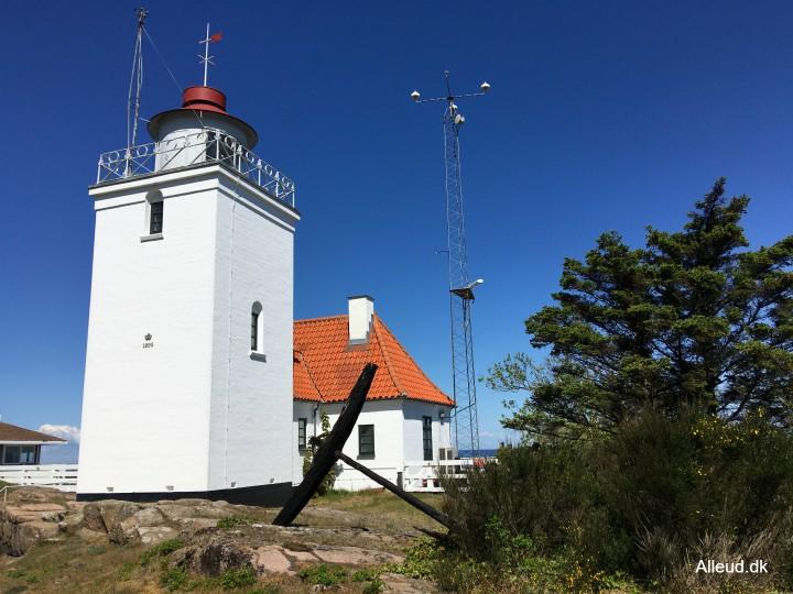 Hammerodde fyr hammeren Hammerknuden Bornholm vandring vandretur