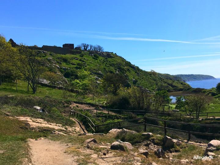 Hammershus slotsruin Bornholm
