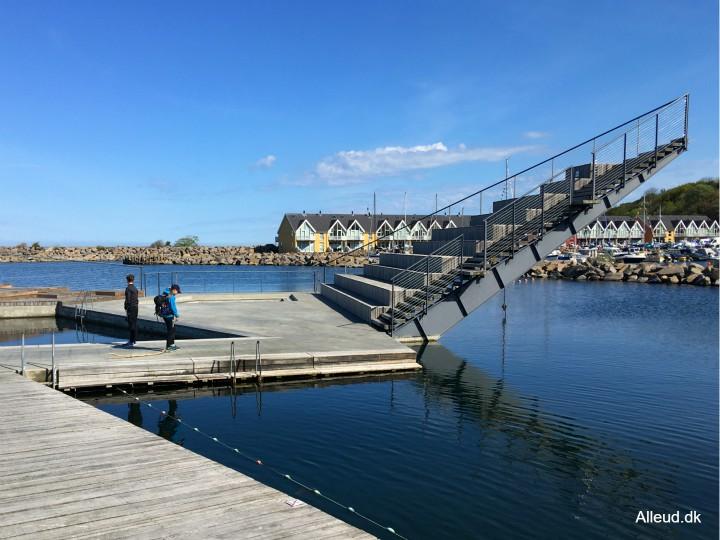 Hasle havnebad Bornholm bademulighed svømme