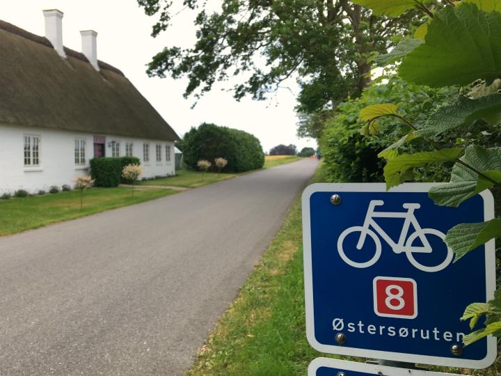 Skilte Skiltning Nationale cykelruter